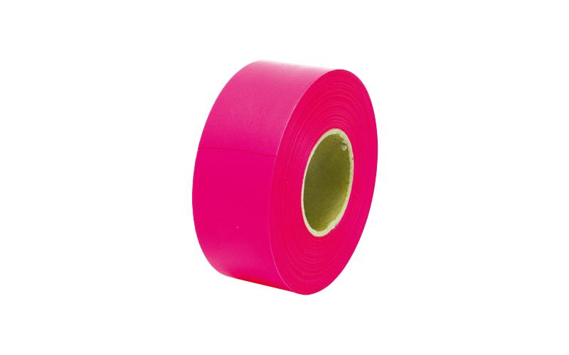 マーキングテープ  30㎜×50m蛍光ピンク