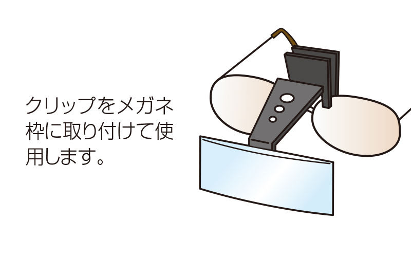 ルーペ  X  精密作業用  ホビー用  2.5倍