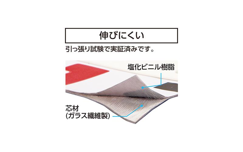 ロッドテープ  ガラス繊維製  1m巾60㎜  クリアパック  JIS