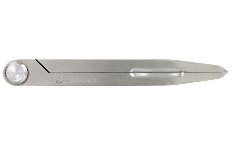 鋼製コンパス  A-2  15㎝  超硬チップ付