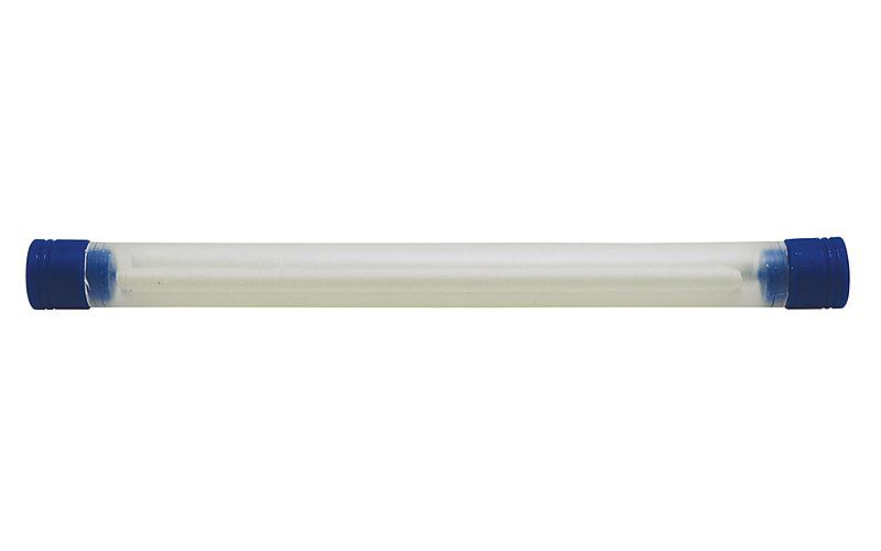 消耗品  替芯  工事用  ノック式クレヨン  4.0㎜  白  4本入
