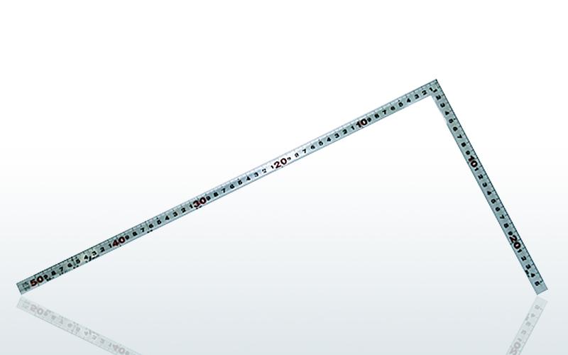 曲尺 角厚 シルバー 併用目盛