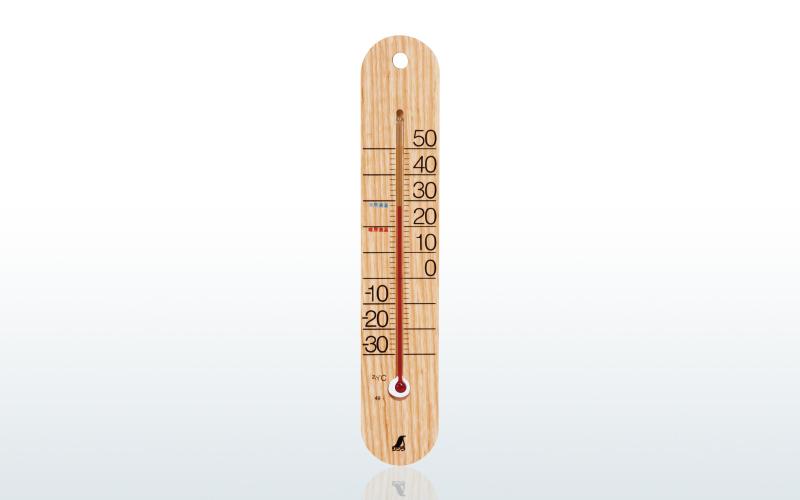 温度計 木製・アルミ製