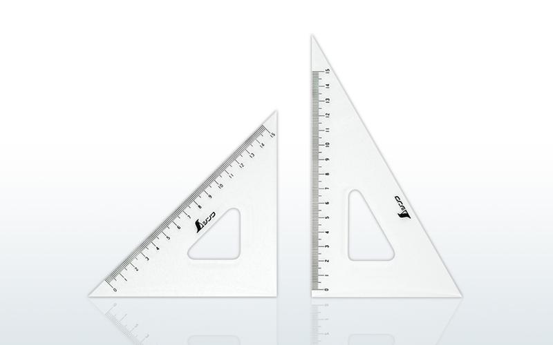 三角定規 アクリル製